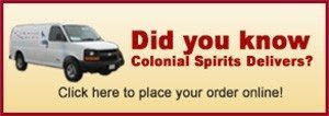 Colonial Spirits Delivers
